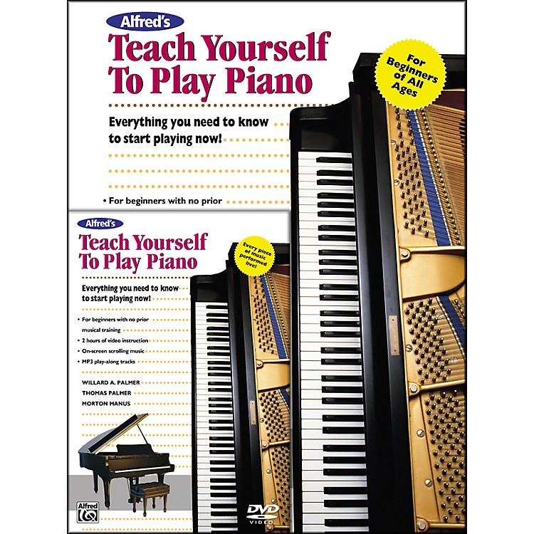 AlfredAlfred's Teach Yourself to Play Piano (Book/DVD)