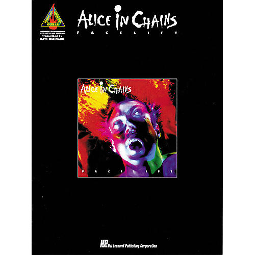 Hal Leonard Alice In Chains Facelift Guitar Tab Songbook-thumbnail