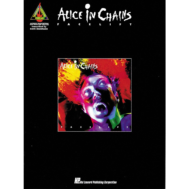 Hal Leonard Alice In Chains Facelift Guitar Tab Songbook