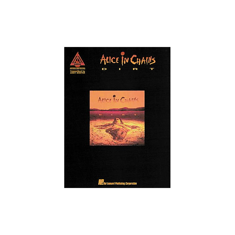 Hal Leonard Alice in Chains Dirt Guitar Tab Songbook