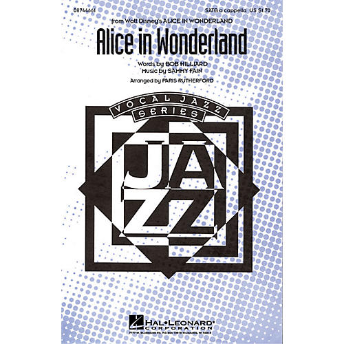 Hal Leonard Alice in Wonderland SATB a cappella arranged by Paris Rutherford-thumbnail