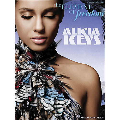 Hal Leonard Alicia Keys - The Element Of Freedom arranged for piano, vocal, and guitar (P/V/G)-thumbnail