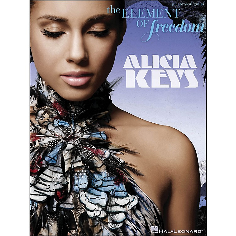 Hal Leonard Alicia Keys - The Element Of Freedom arranged for piano, vocal, and guitar (P/V/G)