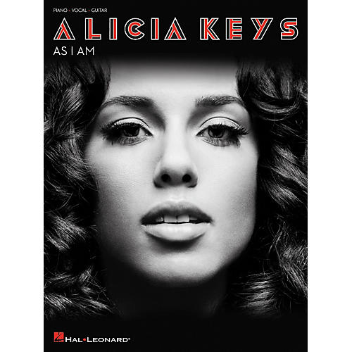 Hal Leonard Alicia Keys As I Am arranged for piano, vocal, and guitar (P/V/G)-thumbnail