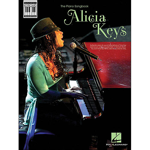 Hal Leonard Alicia Keys: Note-for-Note Keyboard Transcriptions-thumbnail