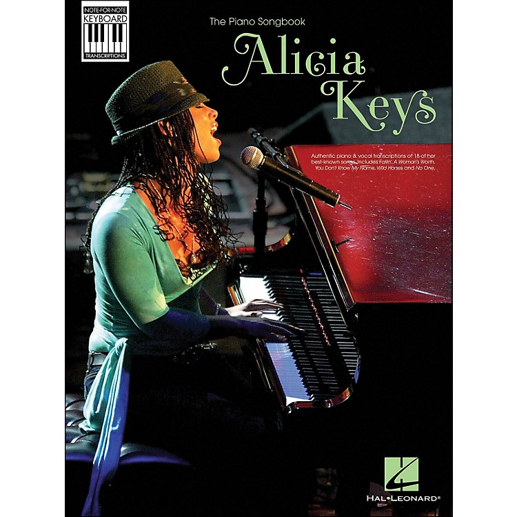 Hal Leonard Alicia Keys: Note-for-Note Keyboard Transcriptions