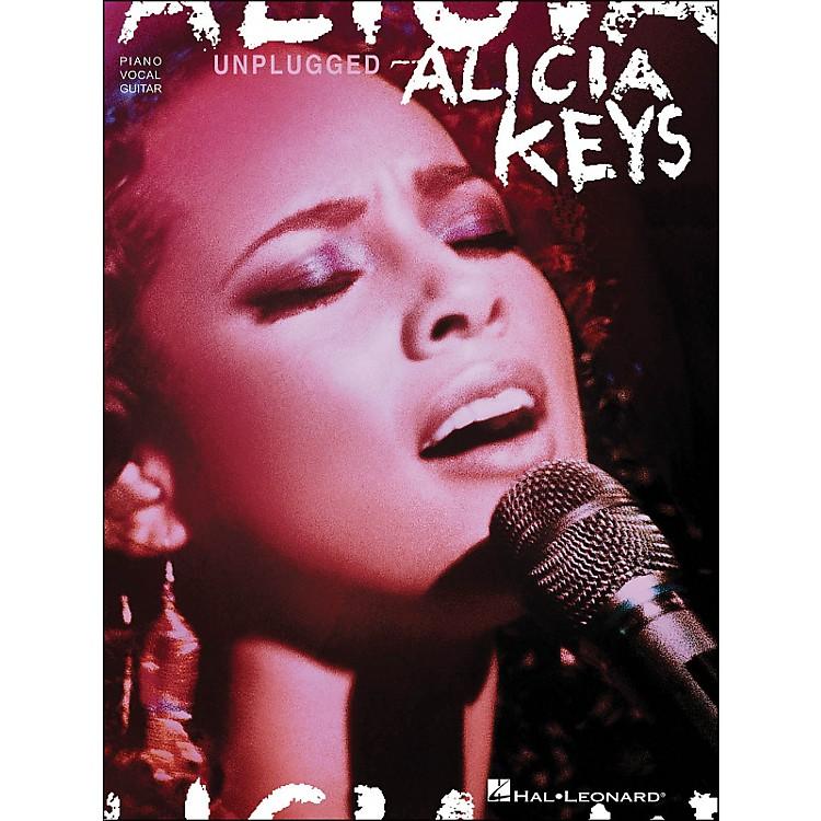 Hal LeonardAlicia Keys Unplugged arranged for piano, vocal, and guitar (P/V/G)