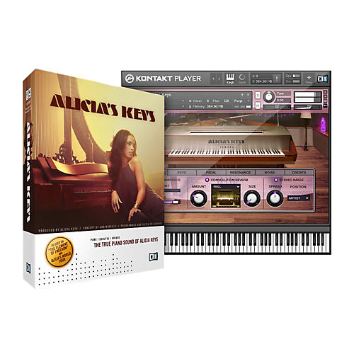 Native Instruments Alicia's Keys Virtual Piano
