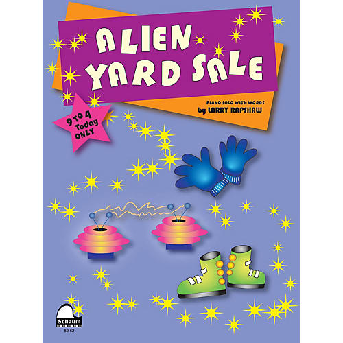 SCHAUM Alien Yard Sale Educational Piano Series Softcover