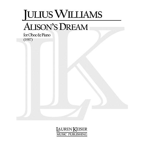 Lauren Keiser Music Publishing Alison's Dream (Oboe with Piano Accompaniment) LKM Music Series by Julius Williams-thumbnail
