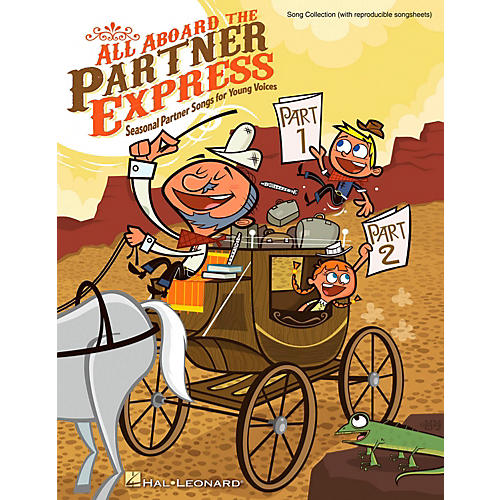 Hal Leonard All Aboard The Partner Express - Seasonal Partner Songs for Young Voices Songbook