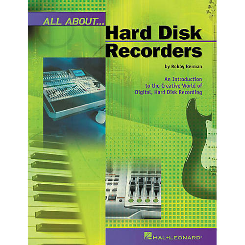 Hal Leonard All About Hard Disk Recorders Book-thumbnail