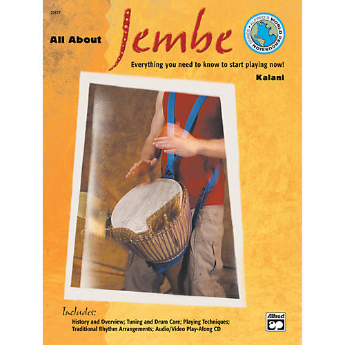 Alfred All About Jembe Book & CD