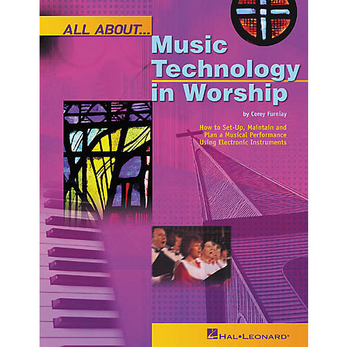 Hal Leonard All About Music Technology in Worship Book-thumbnail