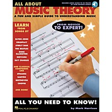 Hal Leonard All About Music Theory Music Instruction Series Softcover Audio Online Written by Mark Harrison