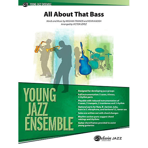 Alfred All About That Bass Jazz Band Grade 2-thumbnail