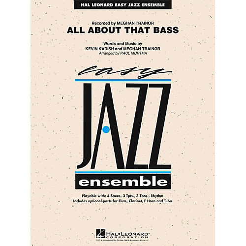 Hal Leonard All About That Bass Jazz Band Level 2-thumbnail