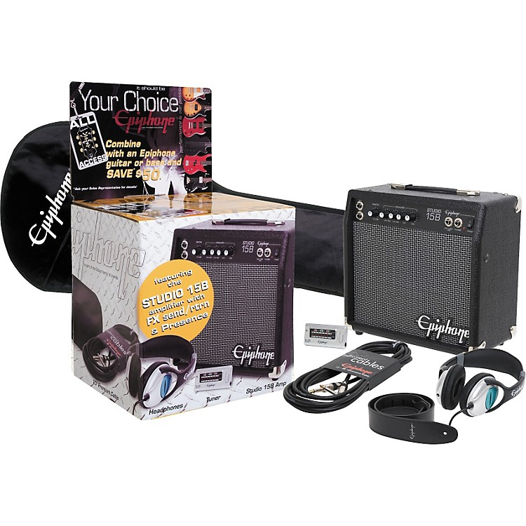 Epiphone All-Access Bass Amp and Accessory Pack