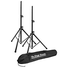 Open Box On-Stage Stands All-Aluminum Speaker Stand Pak With Draw String Bag