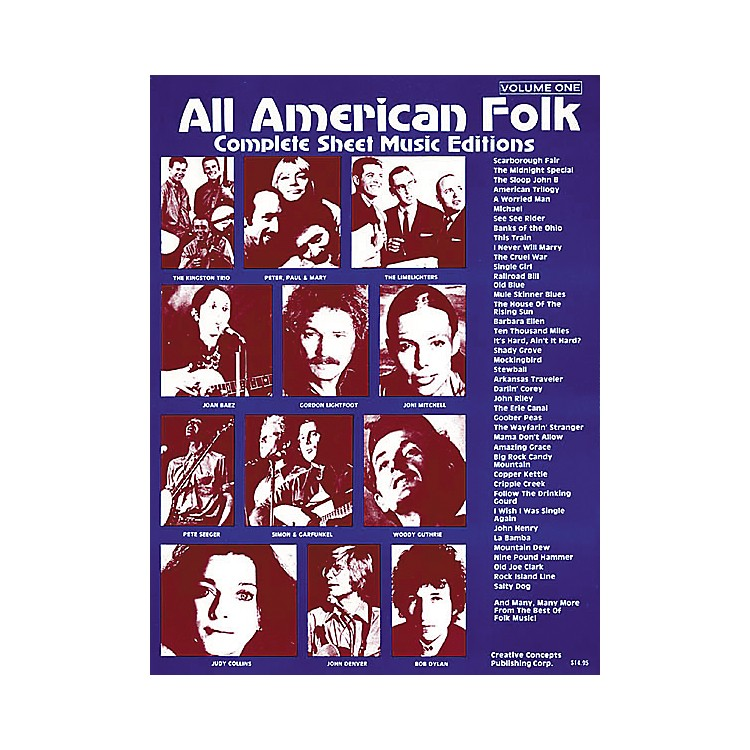 Creative Concepts All American Folk Songbook