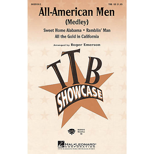Hal Leonard All-American Men (Medley) ShowTrax CD Arranged by Roger Emerson-thumbnail