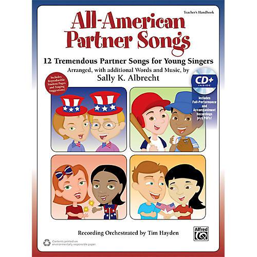 Alfred All-American Partner Songs CD Kit Book & Enhanced CD-thumbnail
