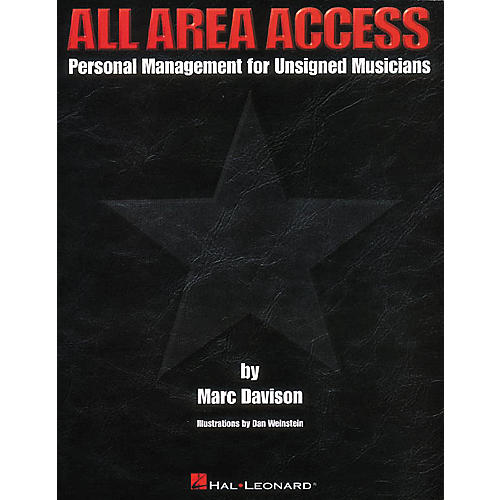 Hal Leonard All Area Access Personal Management Book-thumbnail