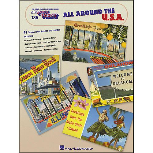Hal Leonard All Around The U.S.A. E-Z Play 135