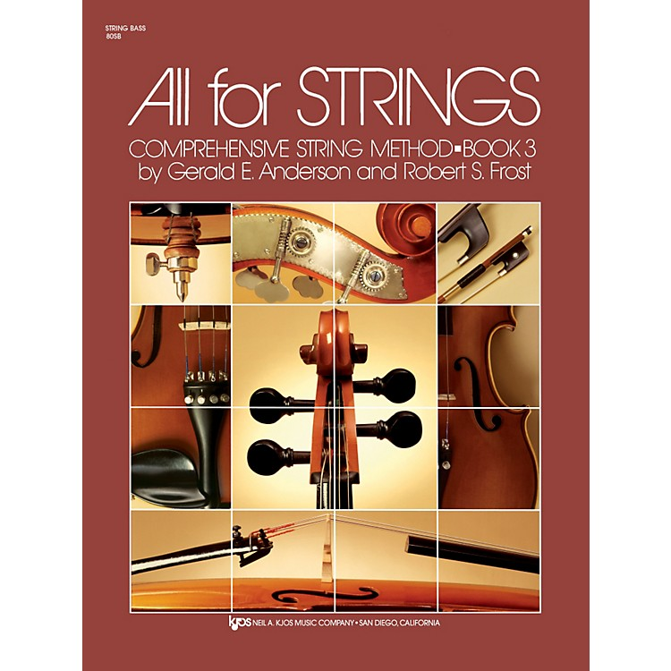 KJOSAll For Strings 3 String Bass