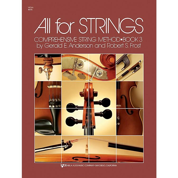 KJOSAll For Strings 3 Viola