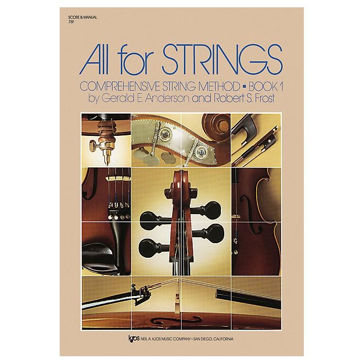 KJOSAll For Strings Book 1Score