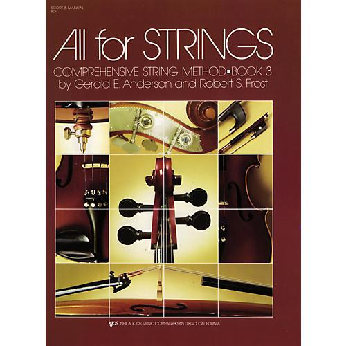 KJOS All For Strings Book 3 Score