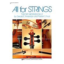 KJOS All For Strings Theory Woorkbook 2-SCORE