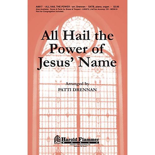 Shawnee Press All Hail the Power of Jesus' Name SATB arranged by Patti Drennan