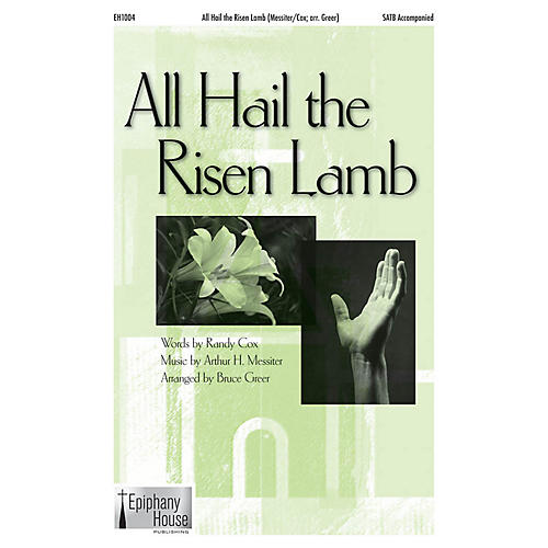 Epiphany House Publishing All Hail the Risen Lamb CD ACCOMP Arranged by Bruce Greer-thumbnail