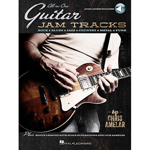 Hal Leonard All-In-One Guitar Jam Tracks - Book with Online Audio Tracks