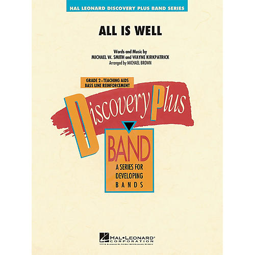 Hal Leonard All Is Well - Discovery Plus Concert Band Series Level 2 arranged by Michael Brown-thumbnail