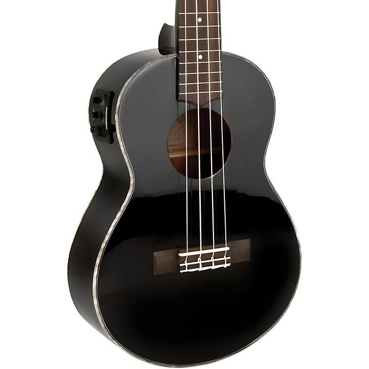 lanikai all mahogany acoustic electric concert ukulele gloss black musician 39 s friend. Black Bedroom Furniture Sets. Home Design Ideas