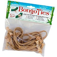 BongoTies All-Purpose Tie Wraps Bamboo and Natural Rubber