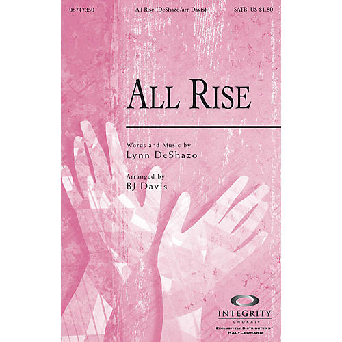 Integrity Music All Rise Orchestra Arranged by BJ Davis