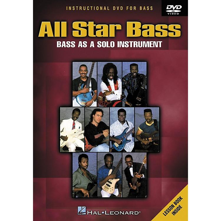Hal LeonardAll Star Bass - Bass As a Solo Instrument (DVD)