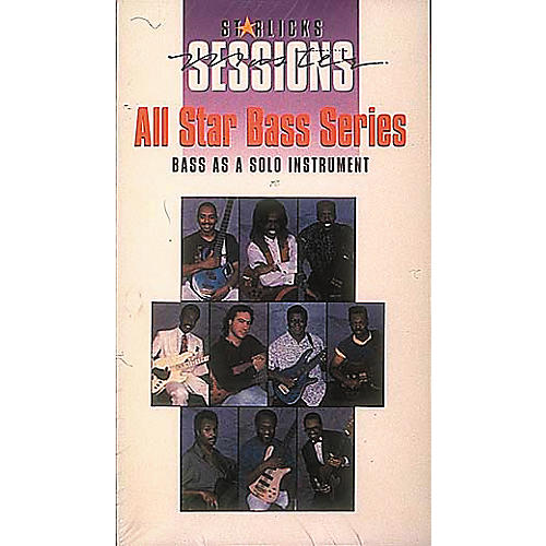 Hal Leonard All Star Bass Series Lineup Soloing Video And Package