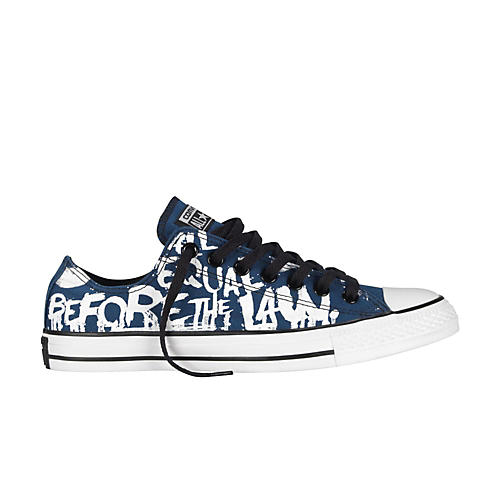 Converse All Star Oxford Low-Top Poseidon/White Vintage Print