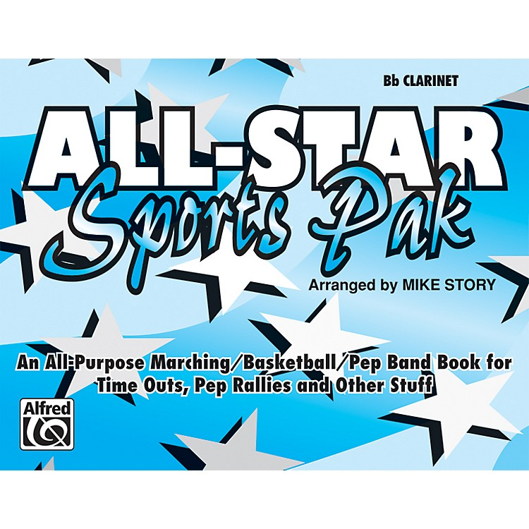 AlfredAll-Star Sports Pak B-Flat Clarinet