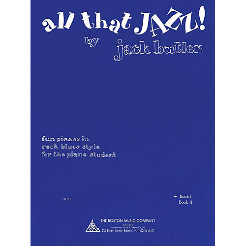 Music Sales All That Jazz! Book 1 Music Sales America Series Softcover Written by Jack Butler