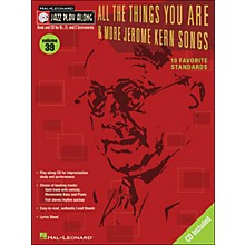 Hal Leonard All The Things You Are & More Jerome Kern Songs Jazz Play-Along Volume 39 Book/CD