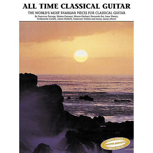 Creative Concepts All Time Classical Guitar Book