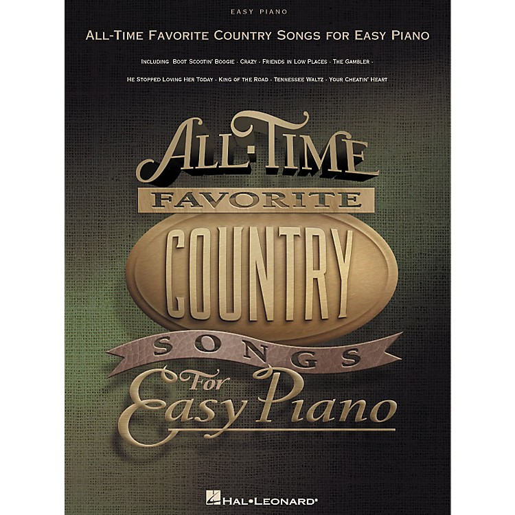 Hal Leonard All-Time Favorite Country Songs for Easy Piano