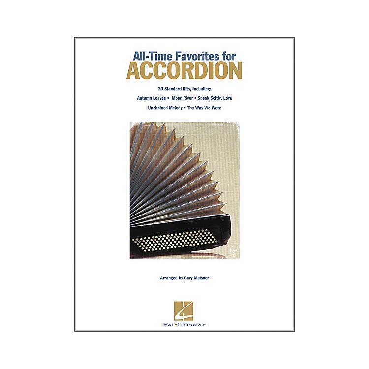Hal Leonard All Time Favorites for Accordion Book