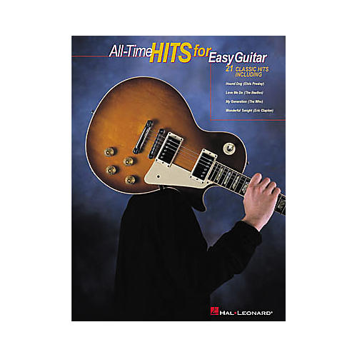 Hal Leonard All-Time Hits for Easy Guitar Tab Songbook-thumbnail
